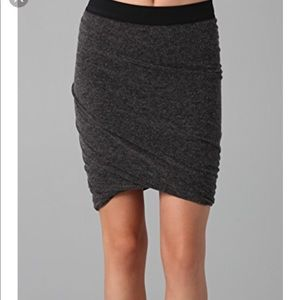 T BY ALEXANDER WANG mini skirt in size small